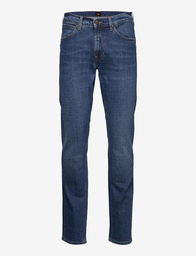 DAREN ZIP FLY - regular jeans - mid woodland