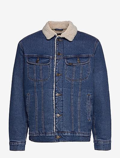 SHERPA JACKET - denim jackets - miid new hill