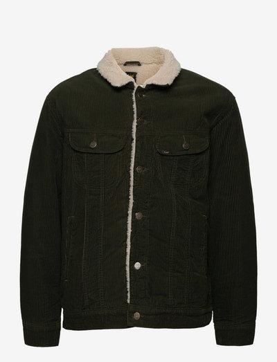 SHERPA JACKET - denim jackets - rosin