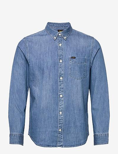 LEE BUTTON DOWN - basic skjortor - tide blue