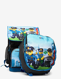 Optimo School Bag - sacs a dos - lego® city police chopper