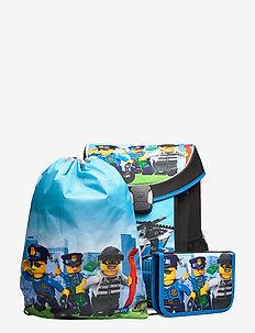 Easy School Bag Set - backpacks - city police chopper