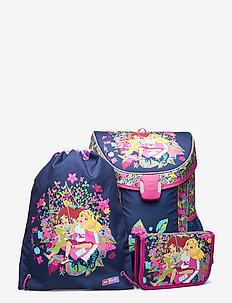 Easy School Bag Set - rygsække - friends™ flowers