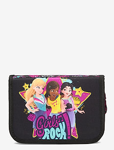 Pencil Case w/Content - totes & small bags - friends™ girls rock