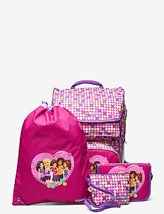 Maxi School Bag Set - plecaki - friends™ confetti