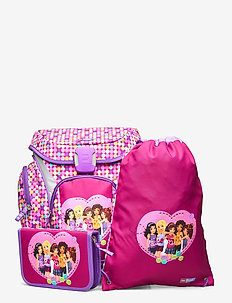 Explorer School Bag Set - backpacks - friends™ confetti