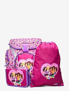 Explorer School Bag Set - sacs a dos - friends™ confetti