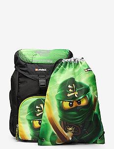Outbag Basic School Bag Set - sacs a dos - lego® ninjago® lloyd garmadon