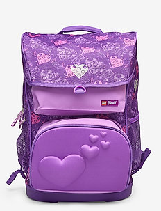Maxi School Bag - reput - lego® friends™ hearts