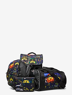 Optimo School Bag 4 pieces Set - reput - lego® ninjago® urban