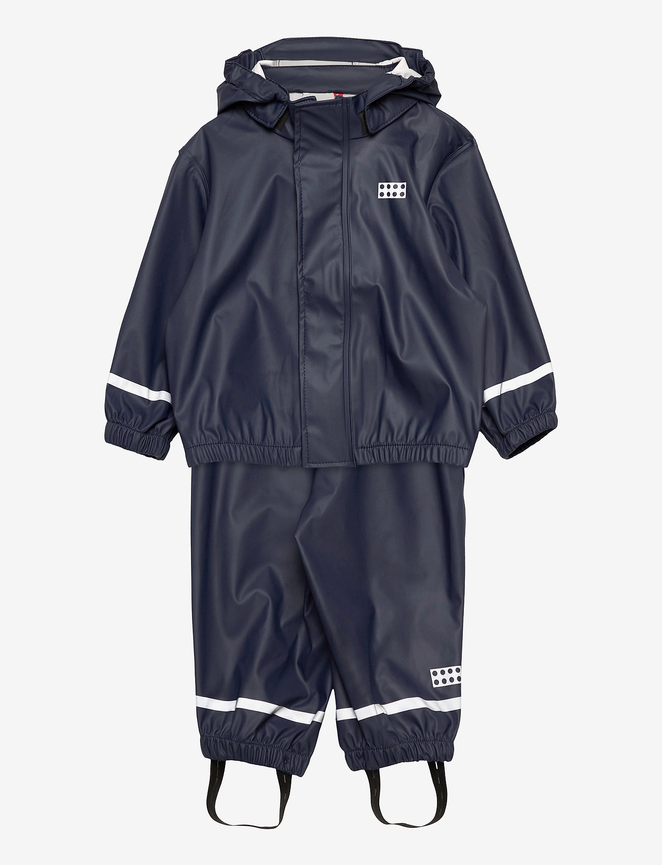 Lego wear - LWJIVAN 200 - PU RAIN SET - ensembles - dark navy - 0