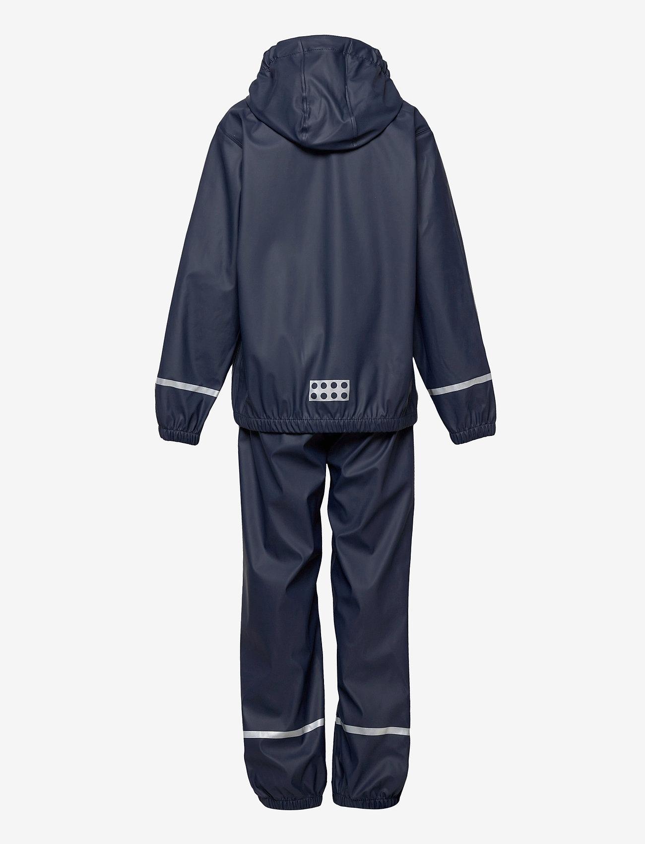 Lego wear - LWJORI 200 - PU RAIN SET - ensembles - dark navy - 1