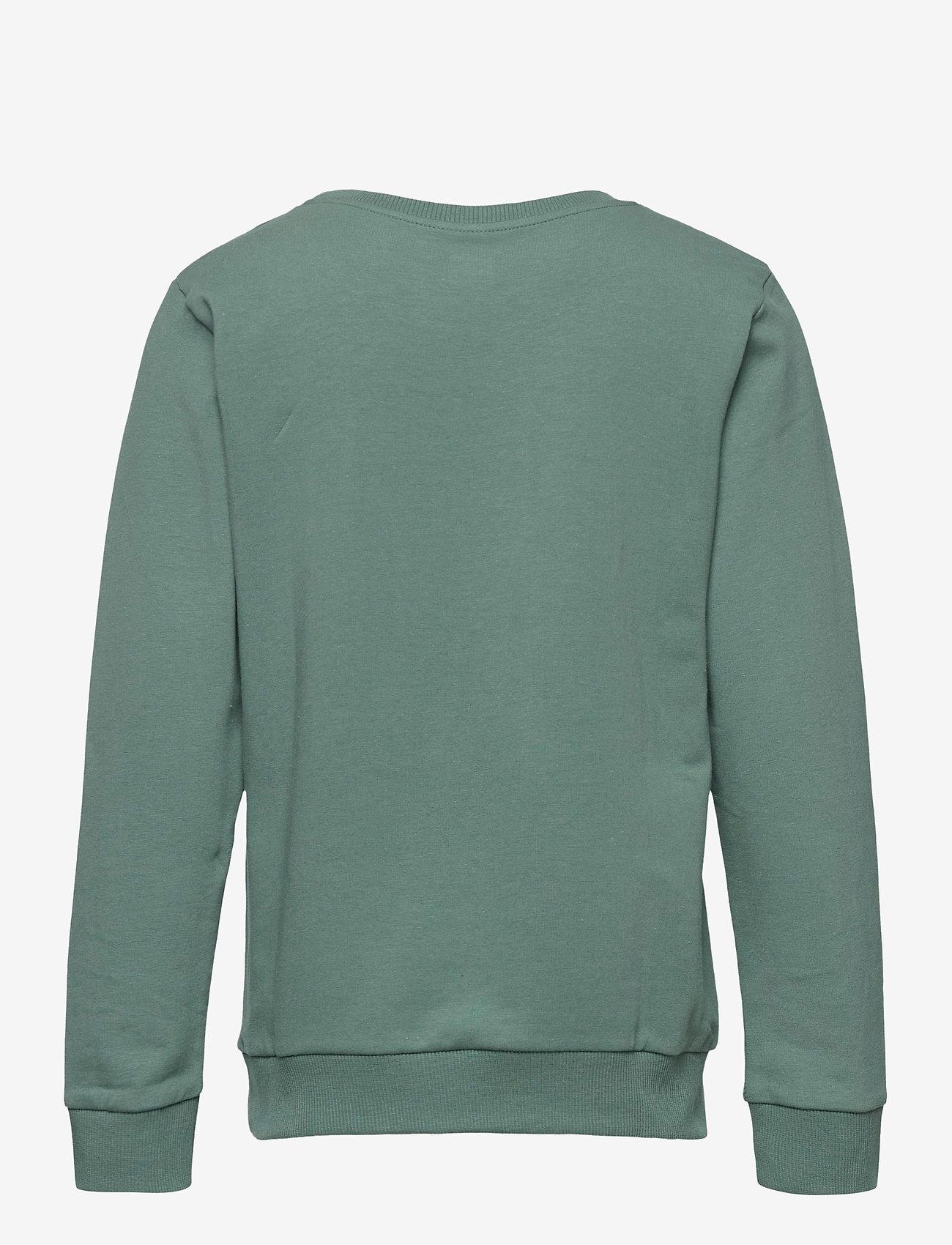 Lego wear - M12010054 - SWEATSHIRT - sweatshirts - mat green - 1