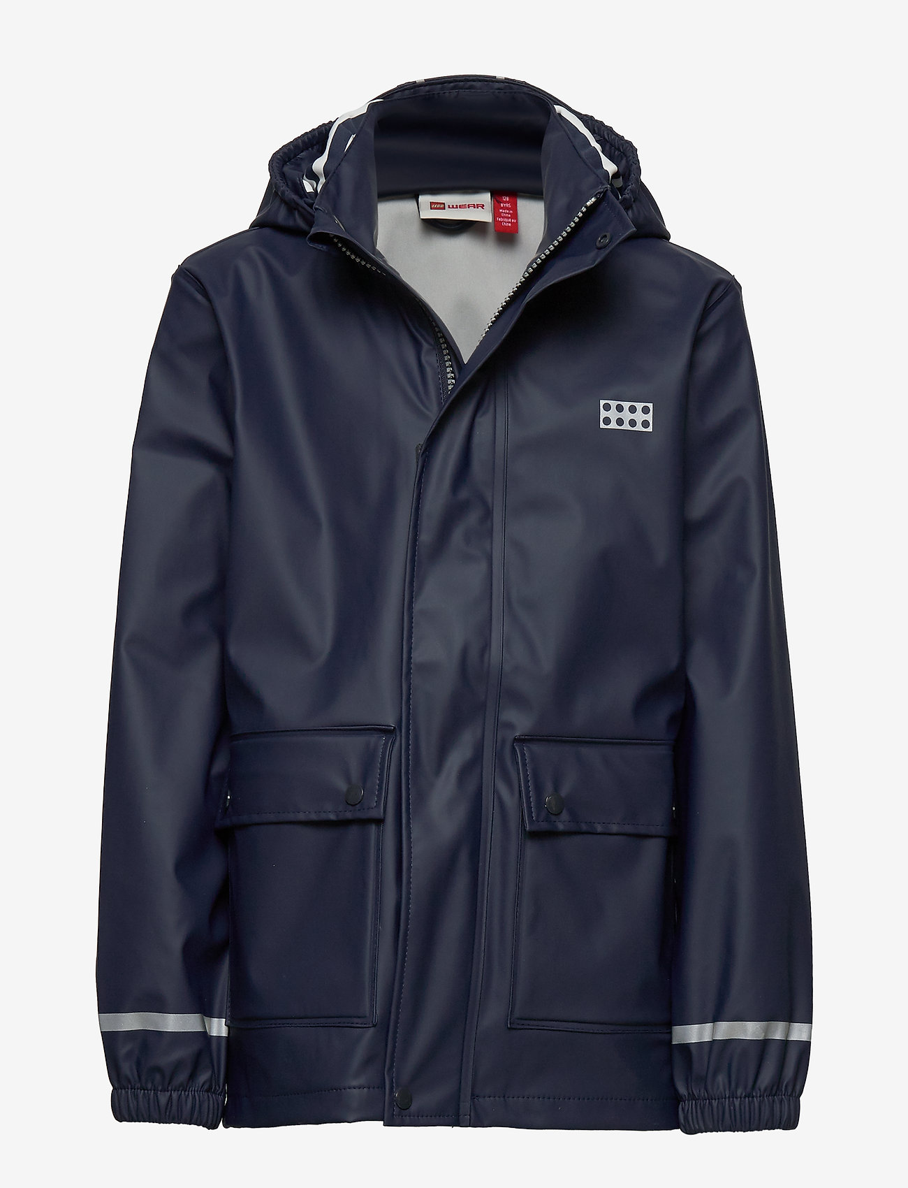 Lego wear - LWJOSHUA 212 - RAIN JACKET - jakker - dark navy - 0