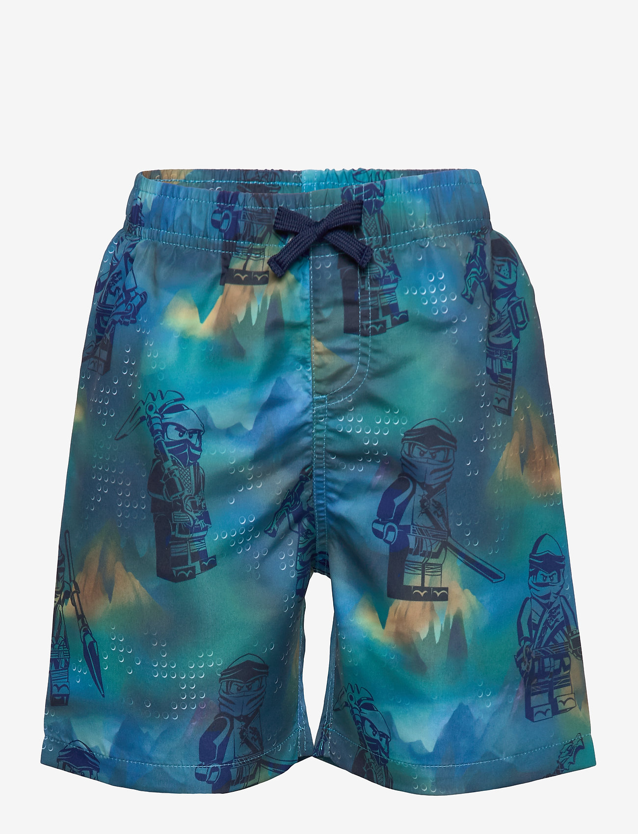 Lego wear - LWPATRIK 353 - SWIM SHORTS - badebukser - light blue - 0