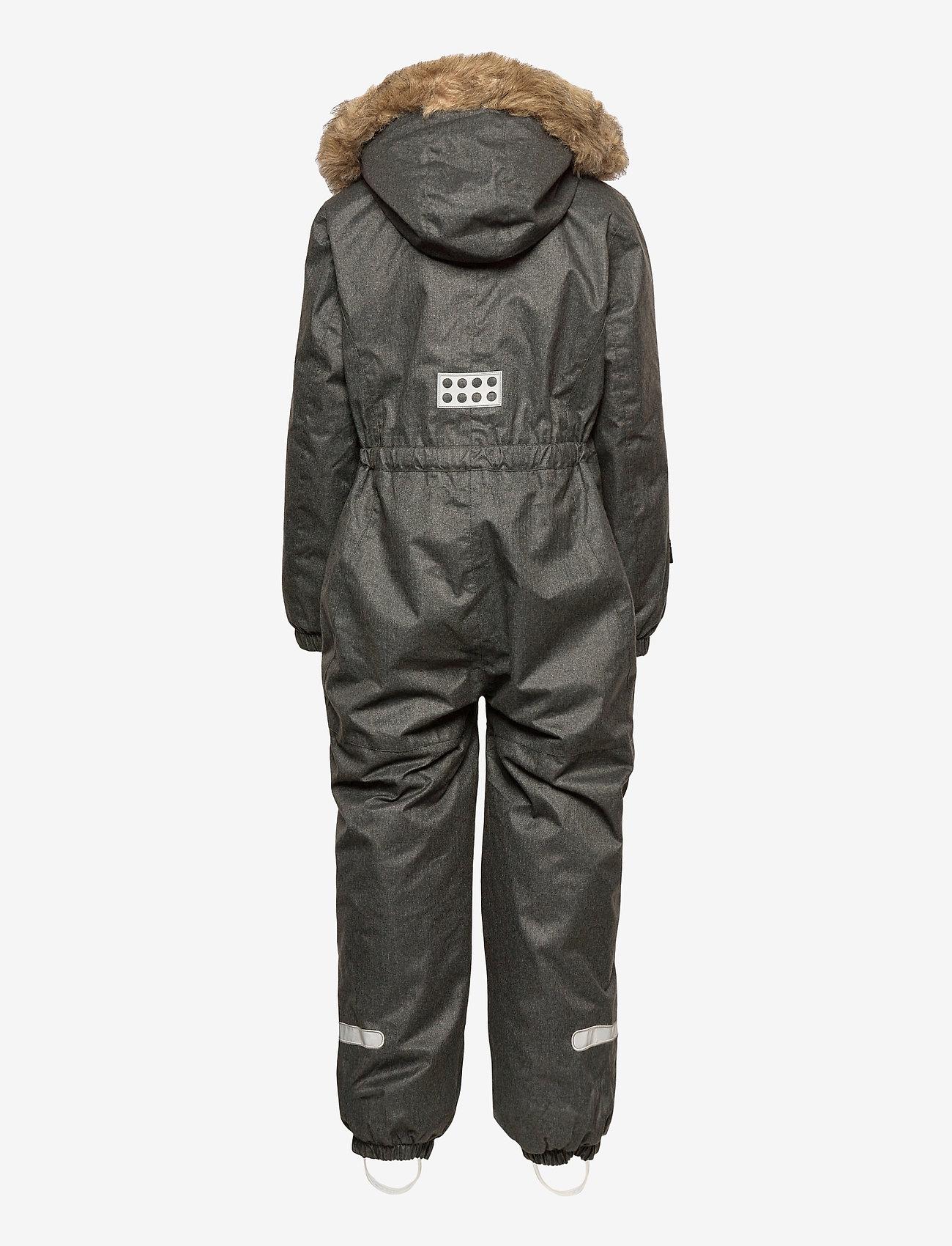 Lego wear - LWJIPE 707 - SNOWSUIT - snowsuit - grey melange - 1