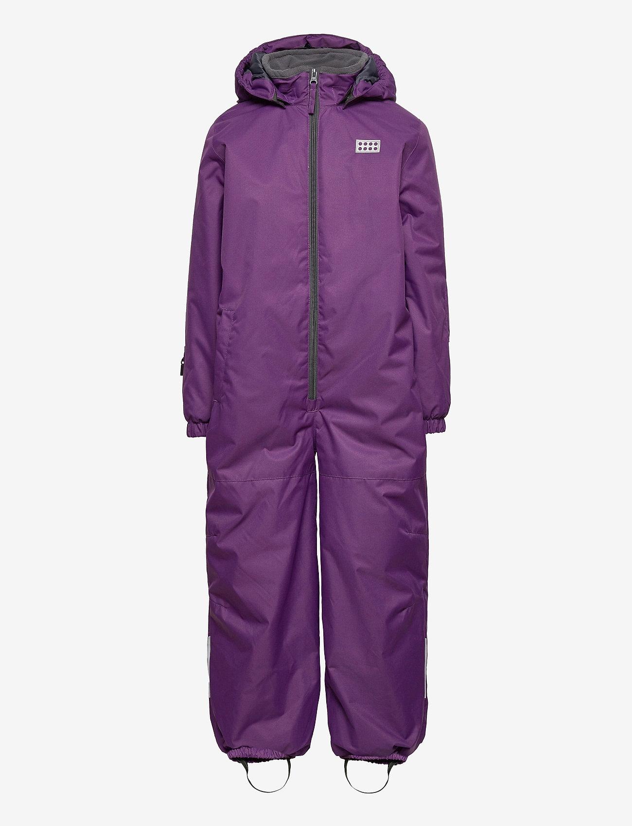 Lego wear - LWJIPE 703 - SNOWSUIT - snowsuit - dark purple - 0