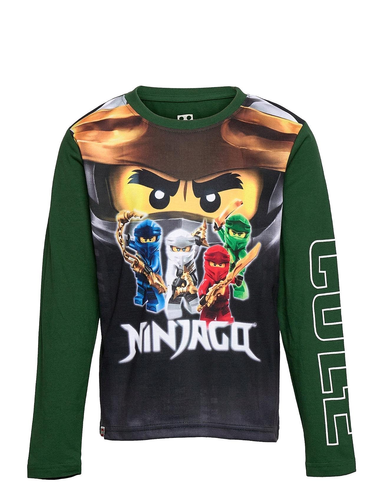 M12010201 - T-Shirt Ls Langærmet T-shirt Grøn Lego Wear