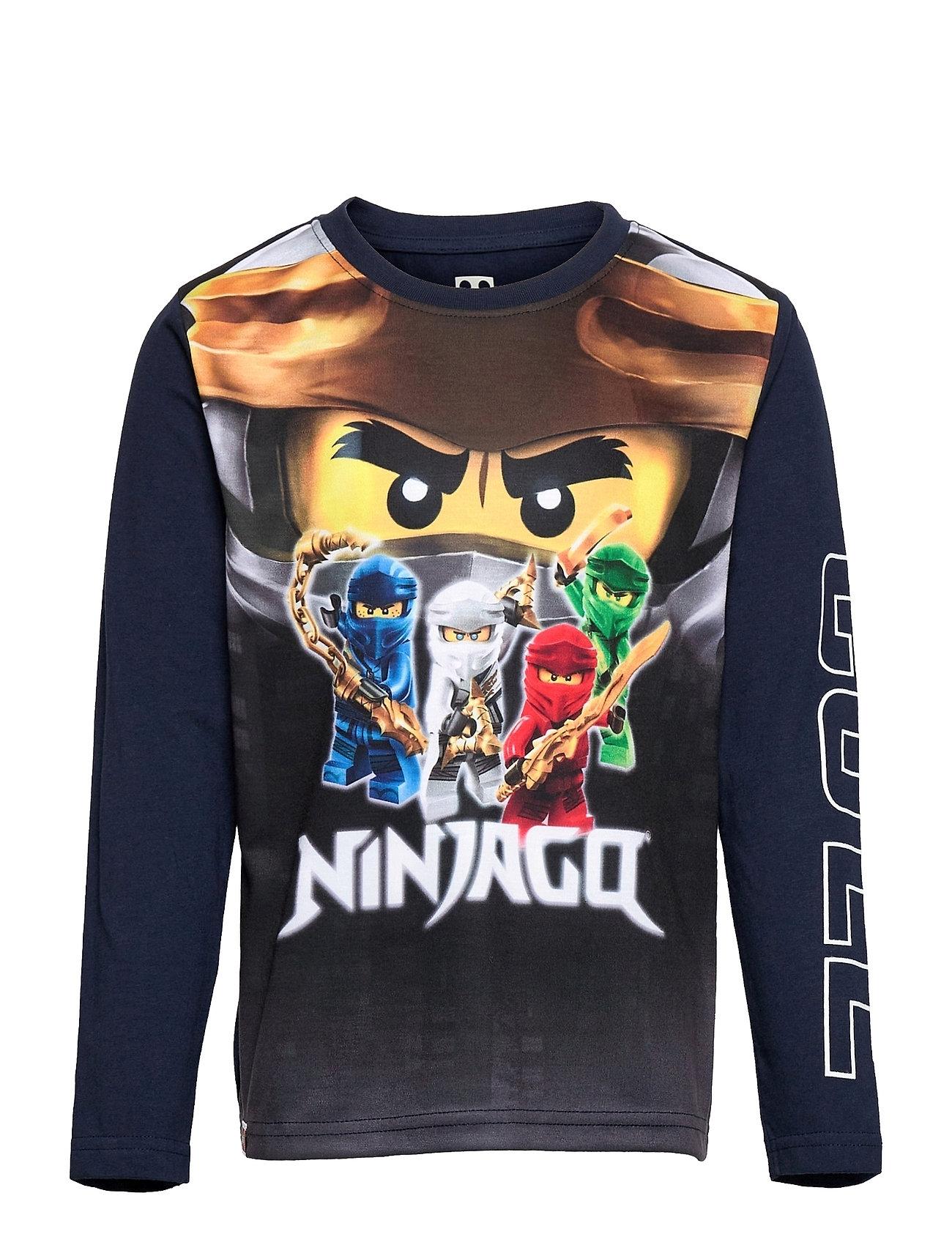 M12010201 - T-Shirt Ls Langærmet T-shirt Blå Lego Wear