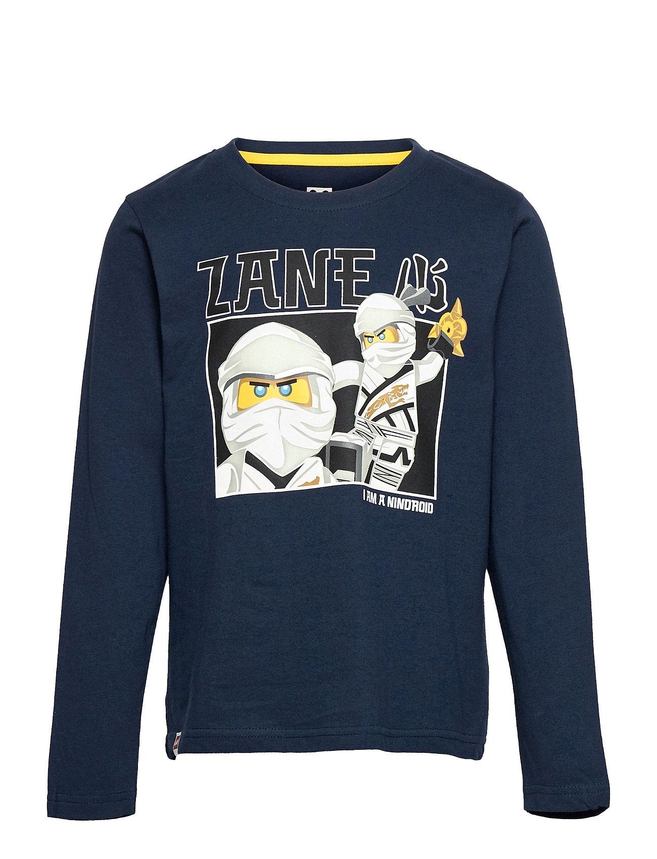 M12010245 - T-Shirt Ls Langærmet T-shirt Blå Lego Wear