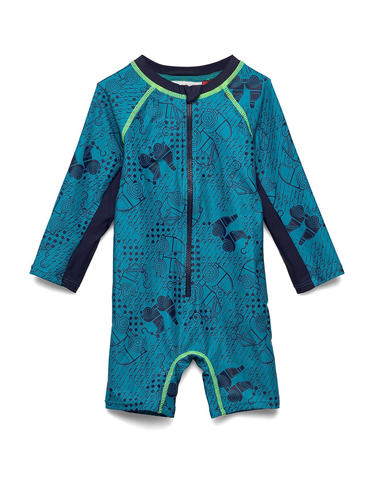 Image of Lwalbert 351 - Sun Wear Swimwear UV Clothing UV Suits Blå Lego Wear (3362440075)