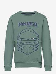 Lego wear - M12010054 - SWEATSHIRT - sweatshirts - mat green - 0