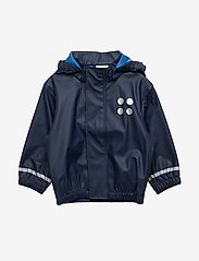 Lego wear - JUSTICE 101 - RAIN JACKET - jakker - dark navy - 0