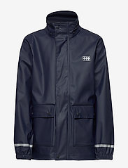 Lego wear - LWJOSHUA 212 - RAIN JACKET - jakker - dark navy - 2