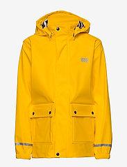 Lego wear - LWJOSHUA 212 - RAIN JACKET - vestes - dark yellow - 1
