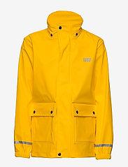Lego wear - LWJOSHUA 212 - RAIN JACKET - vestes - dark yellow - 2