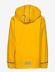 Lego wear - LWJOSHUA 212 - RAIN JACKET - vestes - dark yellow - 3