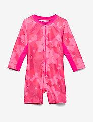Lego wear - LWANGELA 353 - SUN WEAR - maillots 1 pièce - dark pink - 0