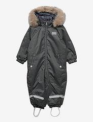 Lego wear - LWJUNIN 706 - SNOWSUIT - snowsuit - grey melange - 0