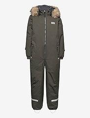 Lego wear - LWJIPE 707 - SNOWSUIT - snowsuit - dark khaki - 1