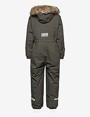 Lego wear - LWJIPE 707 - SNOWSUIT - snowsuit - dark khaki - 2