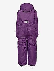 Lego wear - LWJIPE 703 - SNOWSUIT - snowsuit - dark purple - 1