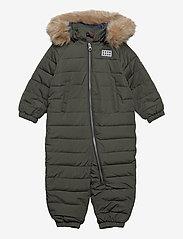 Lego wear - LWJUNIN 708 - SNOWSUIT - snowsuit - dark khaki - 0