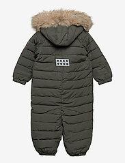 Lego wear - LWJUNIN 708 - SNOWSUIT - snowsuit - dark khaki - 1
