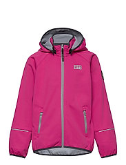 LWSKY 201 - SOFTSHELL JACKET - PINK