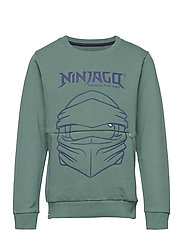 M12010054 - SWEATSHIRT - MAT GREEN