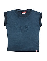 TAMARA 408 - T-SHIRT S/S - DARK BLUE