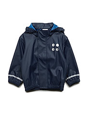 JUSTICE 101 - RAIN JACKET - DARK NAVY