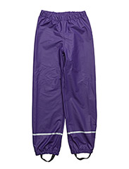 PATIENCE 101 - RAIN PANTS - DARK PURPLE
