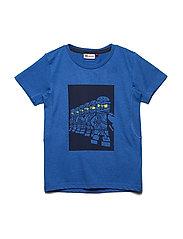 THOMAS 607 - T-SHIRT S/S - BLUE