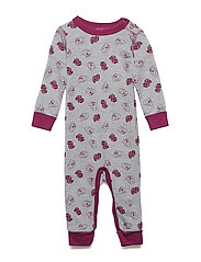 USHER 771 - COVERALL (WOOL) - BORDEAUX