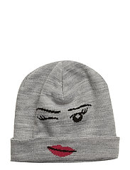 AGATA 708 - HAT - GREY MELANGE
