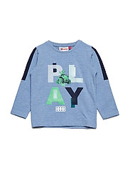 TERRENCE 102 - T-SHIRT L/S - BLUE