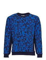 SIAM 325 - SWEATSHIRT - BLUE