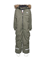 LWJORDAN 702 - SNOWSUIT - DARK GREEN