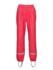 LWPLATON 729 - RAIN PANTS - RED
